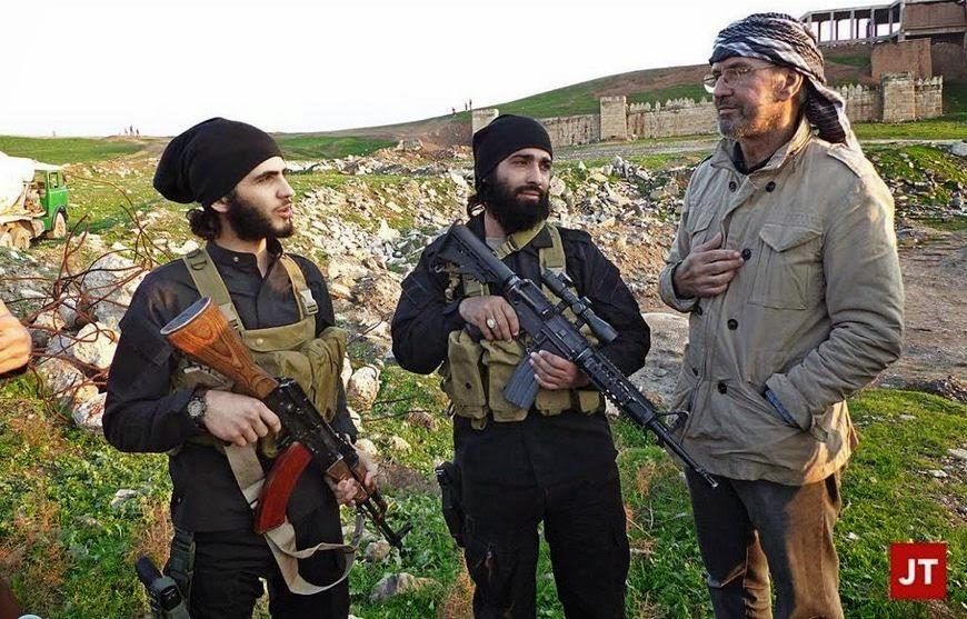Jurnalis Barat Pertama Diterima ISIS