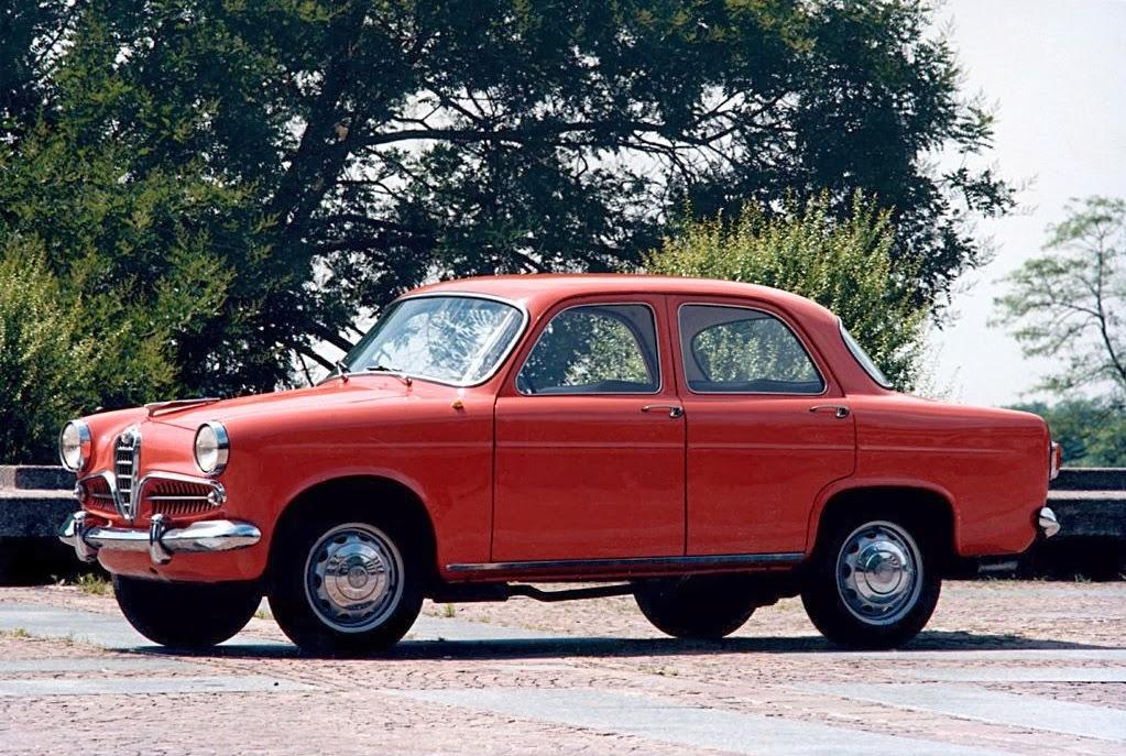 A Giulietta Berlina  foi produzida entre 1955 e 1964.