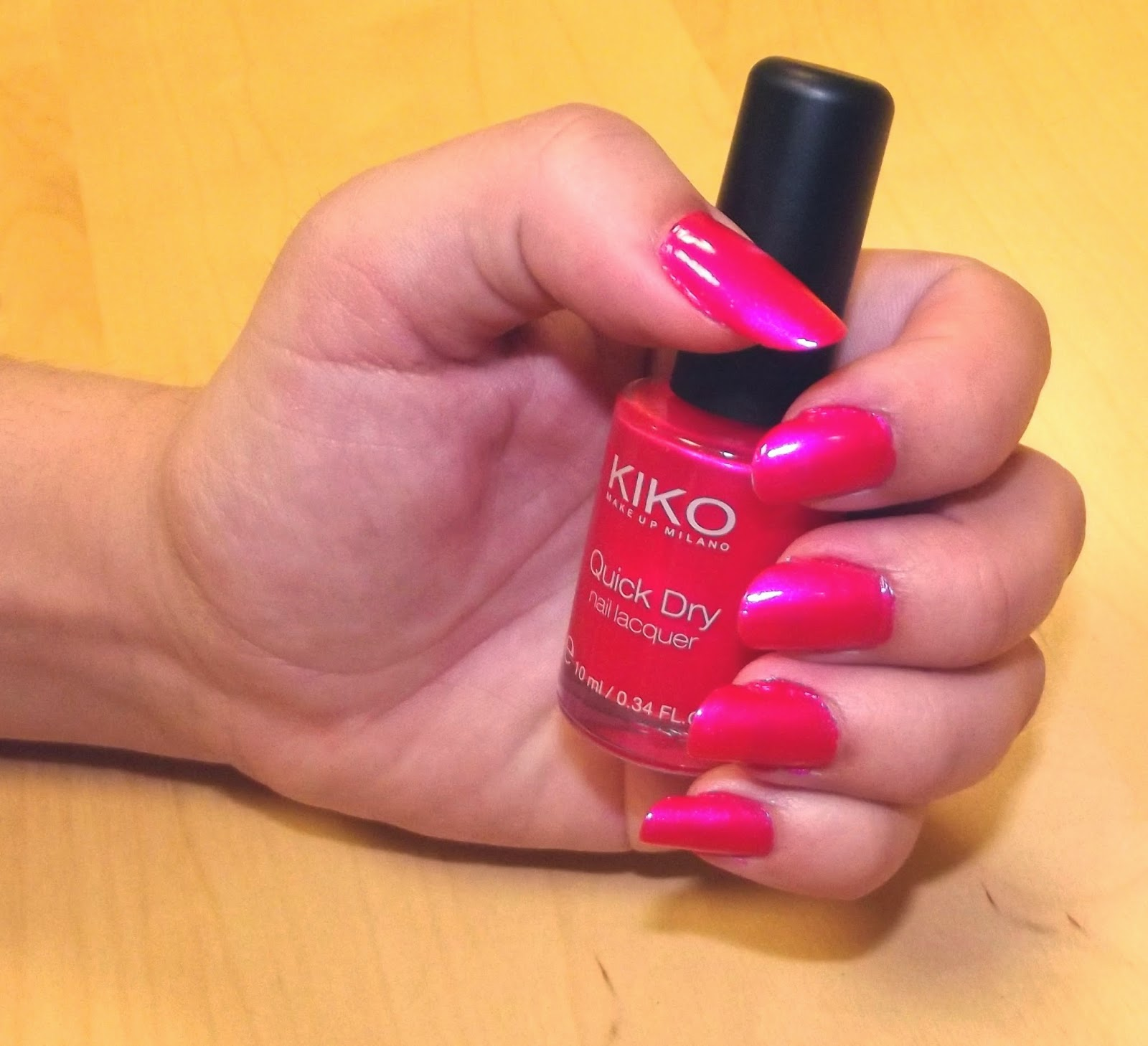 Kiko Quick Dry rose
