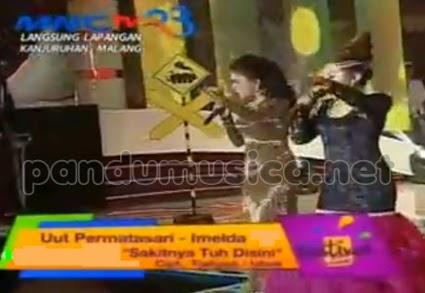 Sakitnya Tuh Disini – Uut dan Imelda – OM Nirwana MNCTV Festival Malang 2014