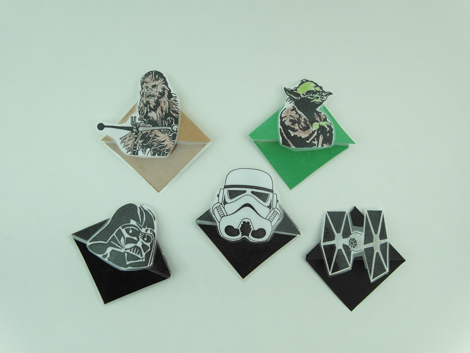 It's just a picture of Versatile Star Wars Bookmarks Printable