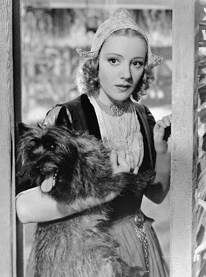Franciska Gaal with Terry in Cecil B. DeMille's The Buccaneer (1938)