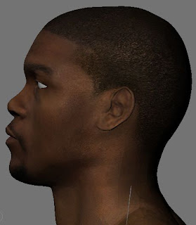 NBA 2K13 Kevin Durant HD Realistic Cyber Face Patch 3D