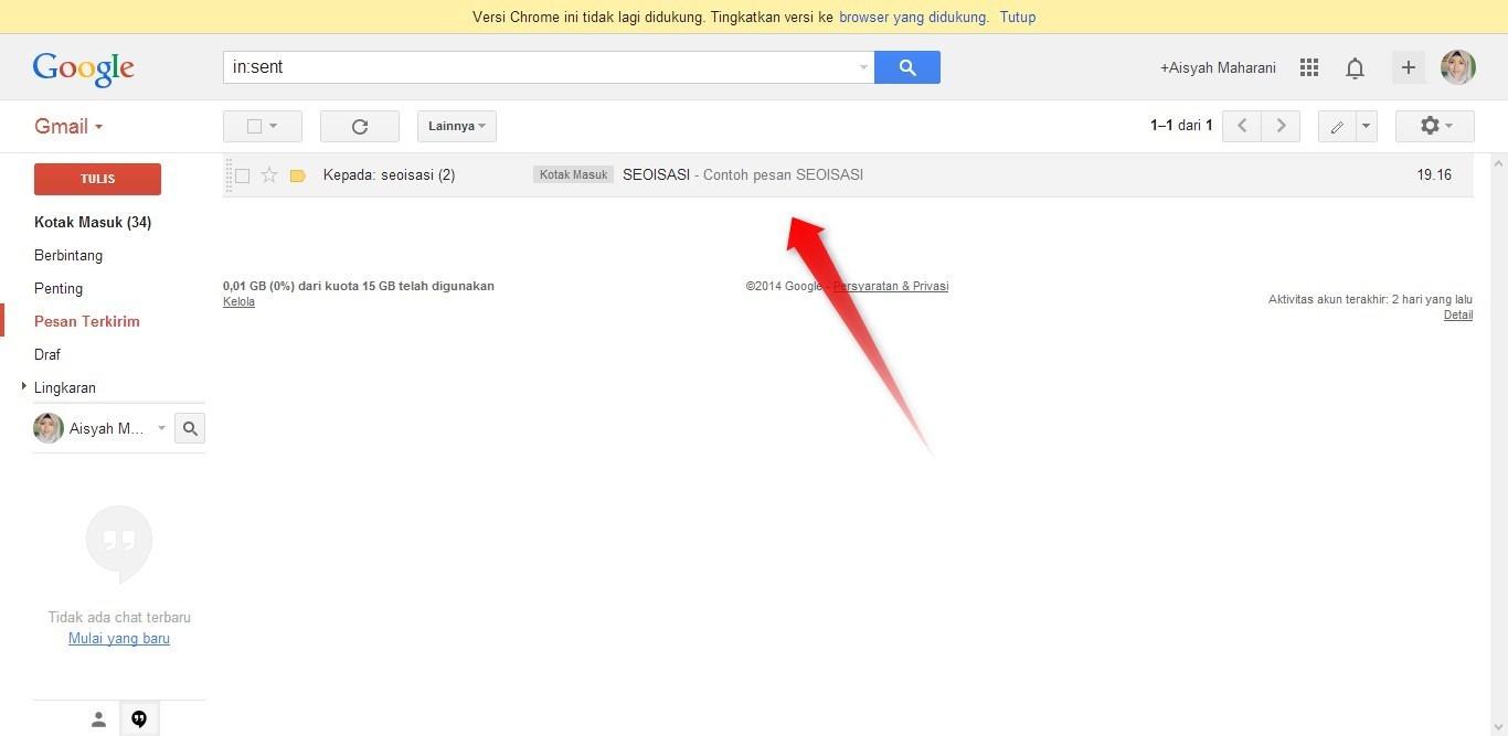 Cara Mengirim Email 3