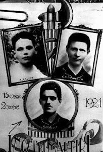 I caduti fascisti Boselli Romolo, Caleffi Arrigo e Morandini Giuseppe