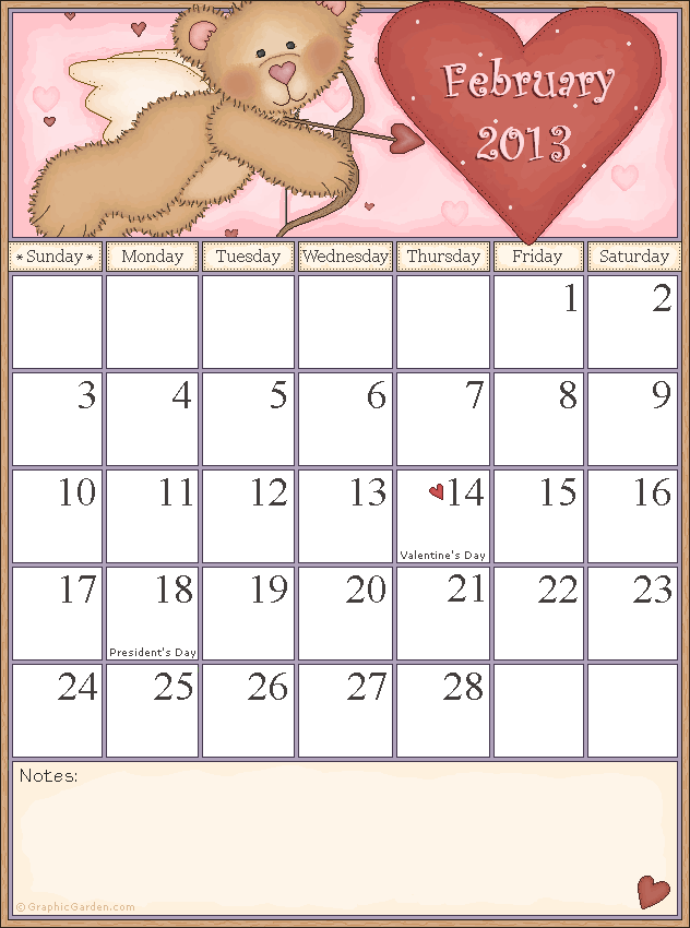 National Health Awareness Calendar 2013 | Search Results ...