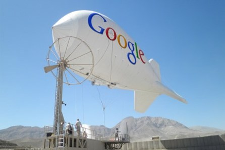 Sky-Bound Balloons, Google's Strategy to Add Users in Asia and Africa