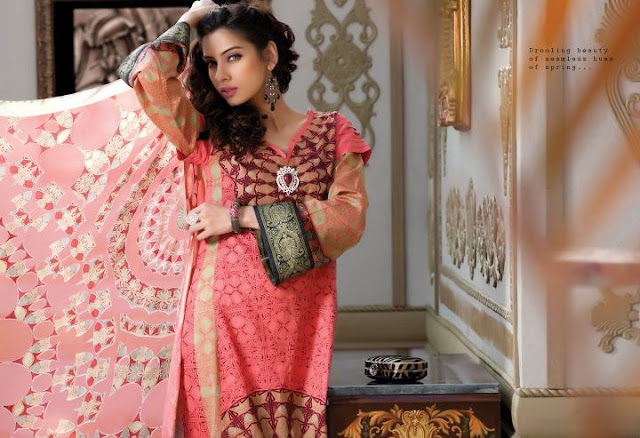 Firdous Lawn Eid Fashion Collection 2012