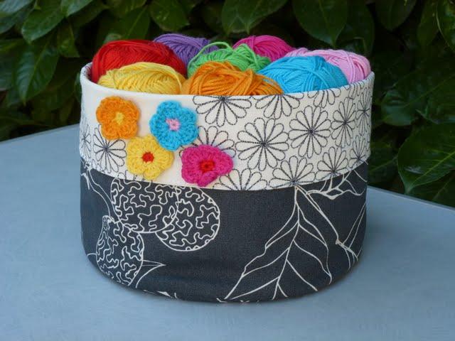 Badkamer Ideeen Opdoen ~   het mandje maakt en hier kun je het patroon van het bloemetje vinden
