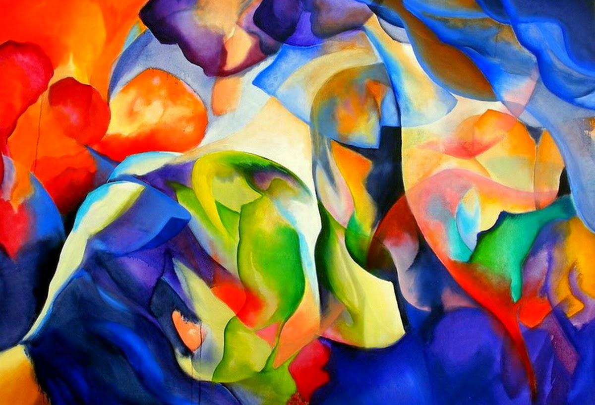 Acrilicas cuadros pinturas modernas car interior design for Imagenes de cuadros abstractos rusticos