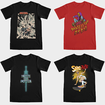 He-Man and the Masters of the Universe T-Shirt Collection by Threadless x Mattel