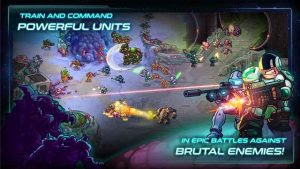 Iron Marines MOD APK v1.1.1 for Android Premium Heroes Unlocked Unlimited Money Gratis