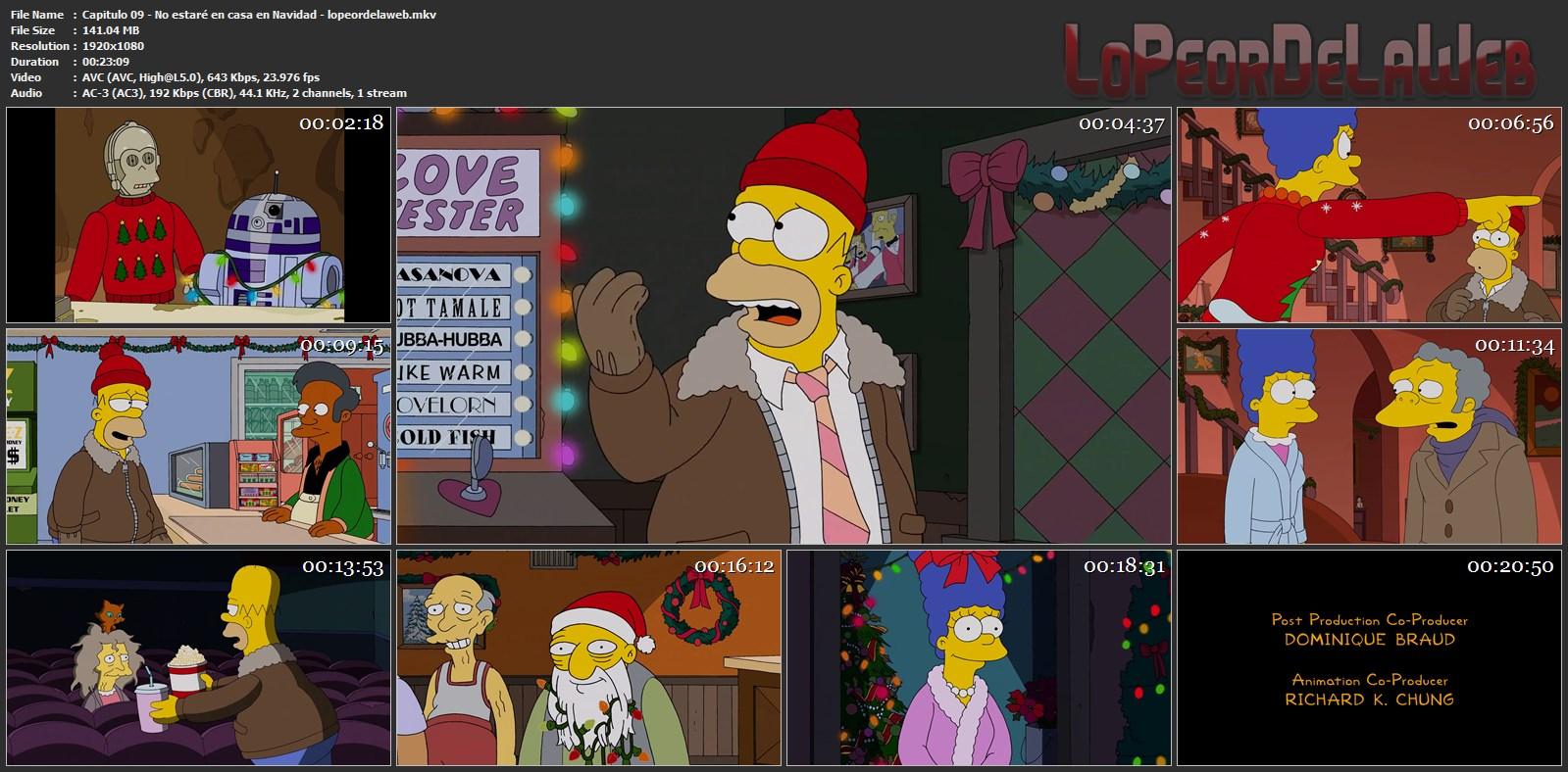 Los Simpsons - Temporada 26 - 1080p - Latino