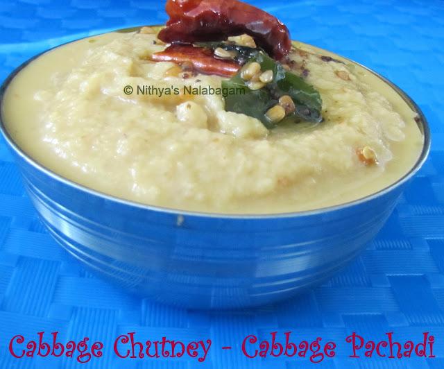 Cabbage Pachadi