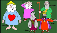 Mini biografías de personajes biblicos