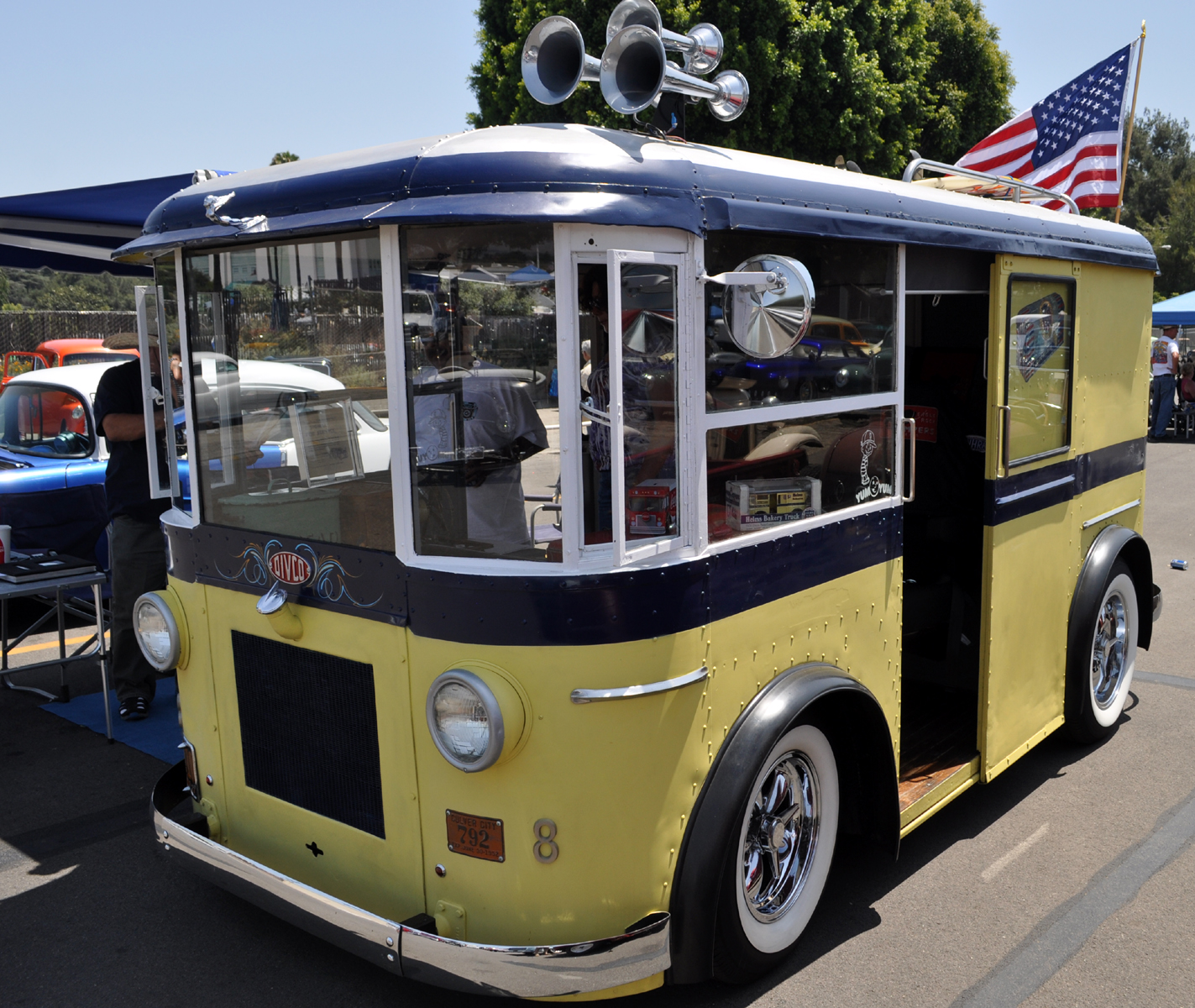 Classic Cars Authority Hot Rod Helms Bakery Delivery Van