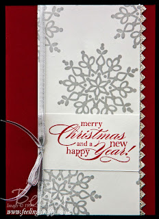 Fast and Fabulous Christmas Cards Using Festive Flurries - includes a mini tutorial
