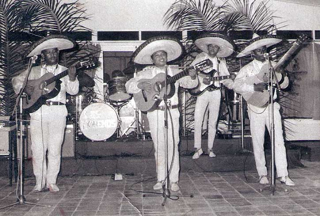 Los Morenos in their Mexican gear