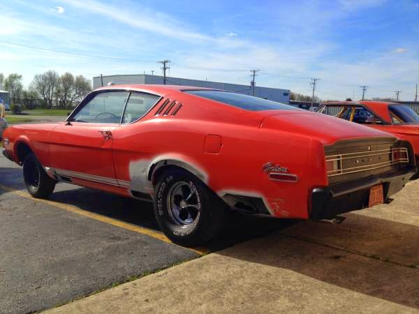 Barn Find 1968 Mercury Cyclone Gt Buy American Muscle Car
