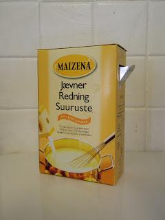 redning med maizena