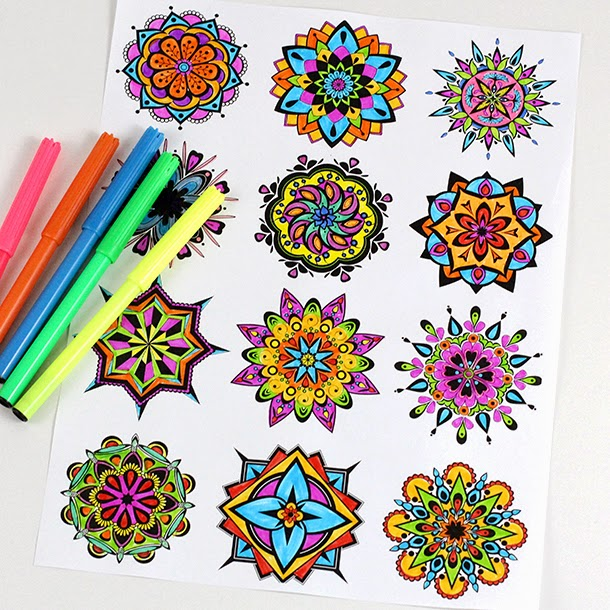 Image Result For Labyrinth Mandala Coloring Page