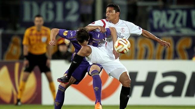 Fiorentina-Siviglia 0-2 (0-5) VIDEO: spagnoli alla finale di Varsavia di Europa League