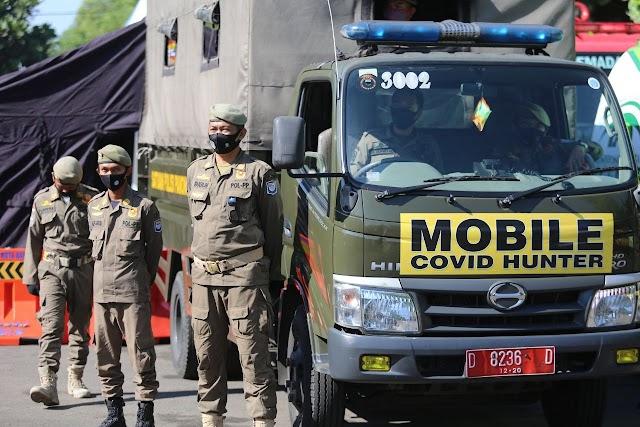 Jaga Kepatuhan Masyarakat, Gugus Tugas Luncurkan Mobile Covid Hunter