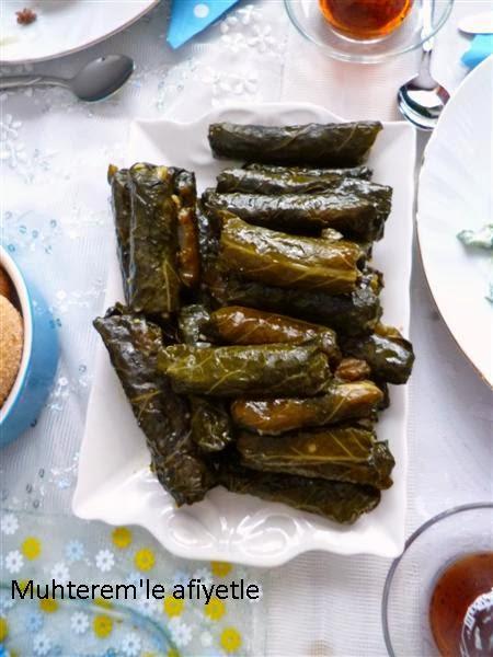 Mısır Bulgurlu-Bal Kabaklı Kara Lahana Sarması