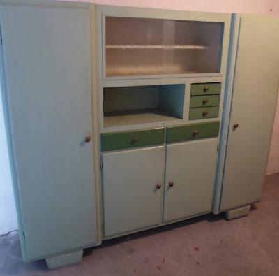 Rimodern credenza da cucina vintage anni 39 50 39 60 for Piastrelle cucina anni 50