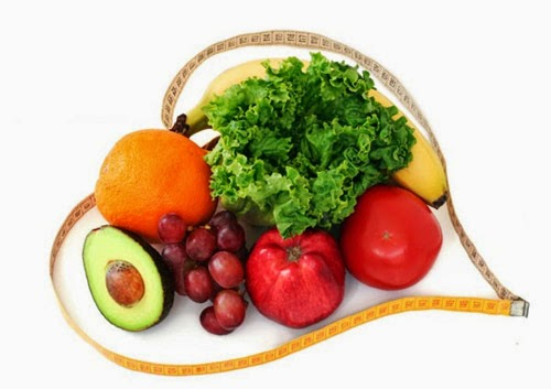 rau củ quả cho chế độ ăn uống giảm cân