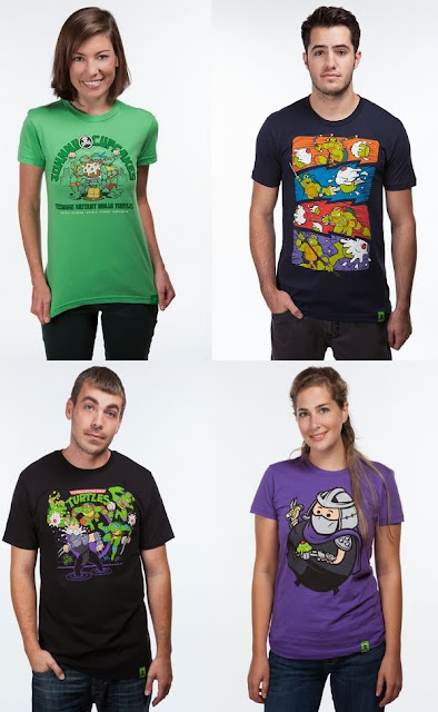 Johnny Cupcakes x Teenage Mutant Ninja Turtles T-Shirt Collection - TMNT Collaboration, TMNT Food Fight, TMNT Shredder Smash & Big Kid Shredder