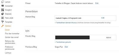 cara setting domain ke blogspot idwebhost