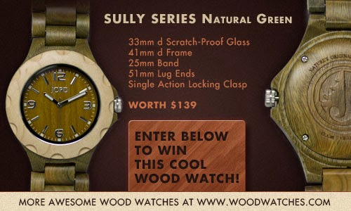 JORD Wood Watches International Giveaway