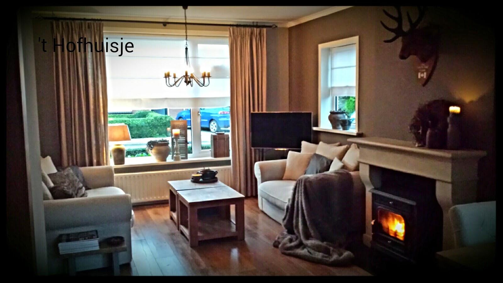 t Hofhuisje : Onze woonkamer