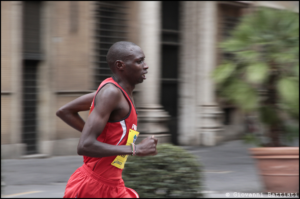 Fotografia di Kiplagat Jacob Yator alla Maratona di Roma 2013