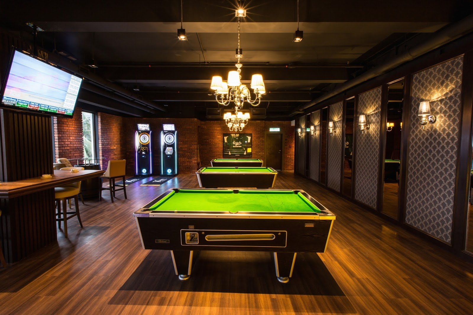 Refreshed Restyled Rebranded The Merchant Armada Hotel PJ - Retro pool table