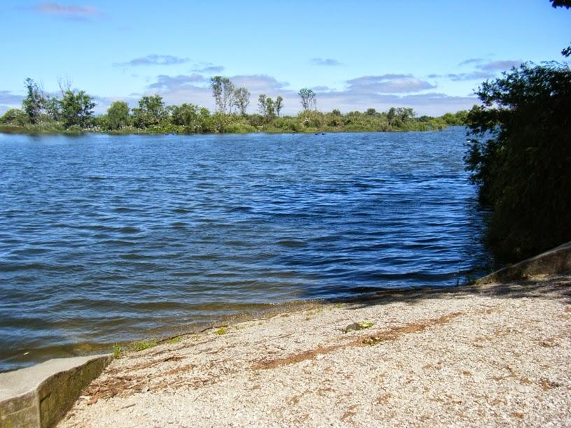 Cais para o Rio Tejo em Escaroupim