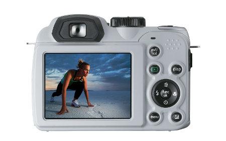 LCD Display of GE X500