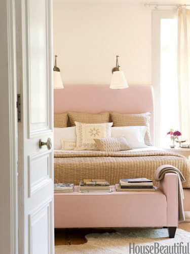 Refresheddesigns july 2012 for Cream and pink bedroom ideas