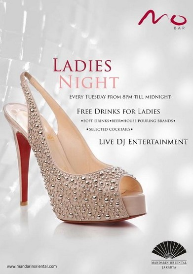 ladies nights MO bar Jakarta