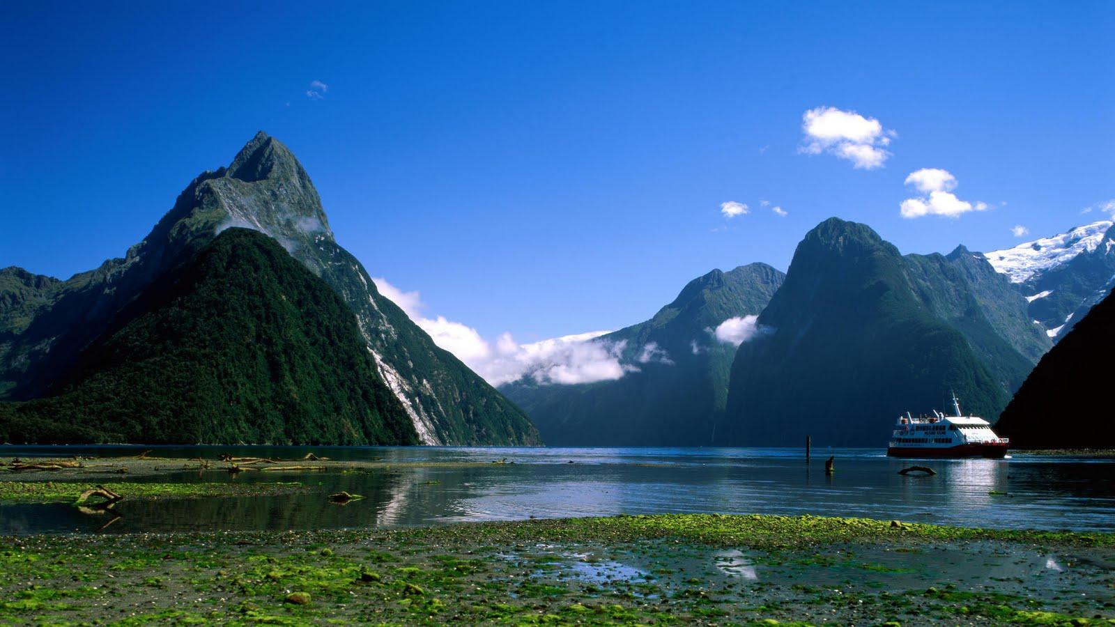 Travel Trip Journey Milford Sound New Zealand