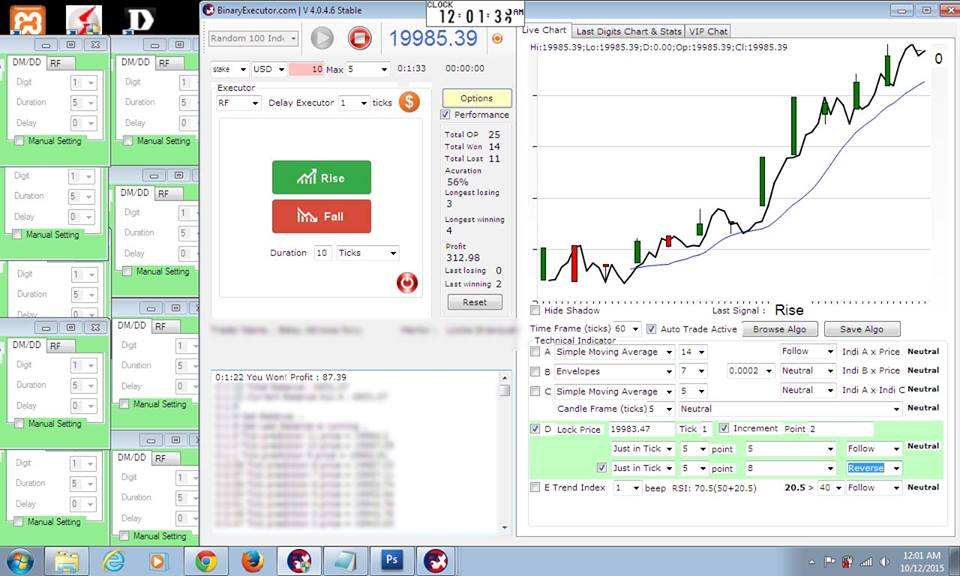 Binary options trading bot
