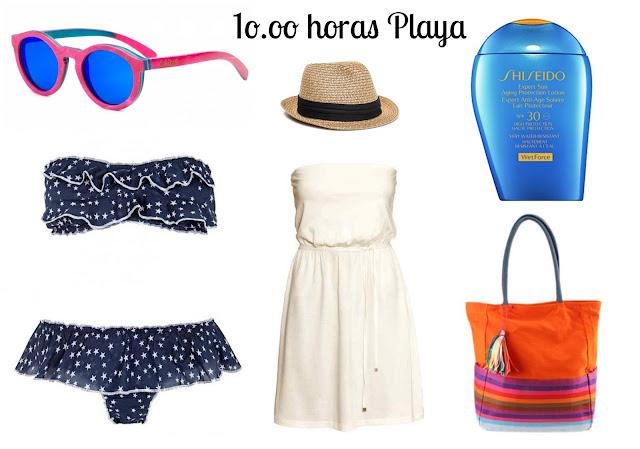 que meter maleta playa look playero bikini artesanal gafas de sol cristal polarizado verano 2015