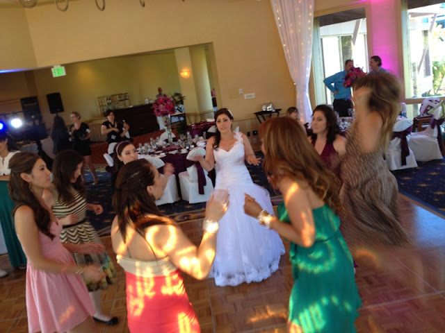 Disneyland Wedding - Reception Dancing