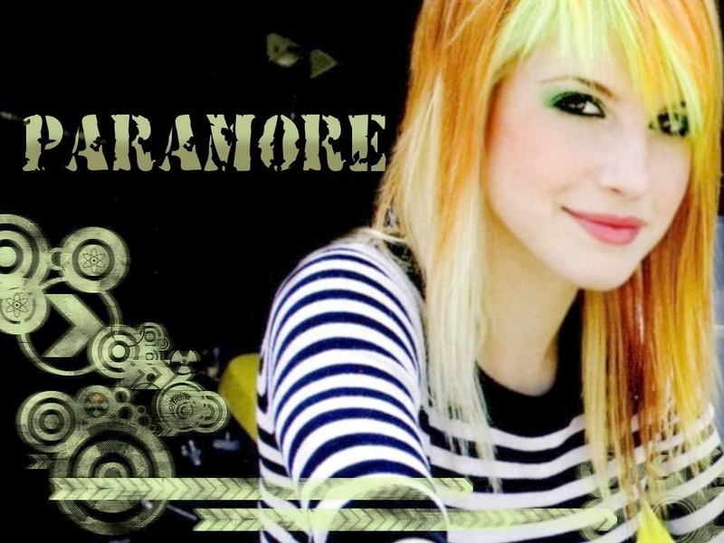 Fondo de Pantalla de Paramore con Hayley Williams