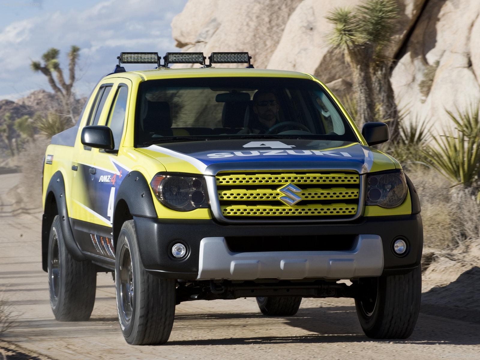 Hình ảnh xe ô tô Suzuki Equator RMZ-4 Concept 2008 & nội ngoại thất
