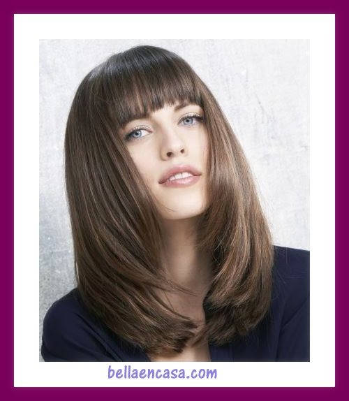 Imagenes De Corte De Pelo Largo Interesting Medium Shag Hairstyles