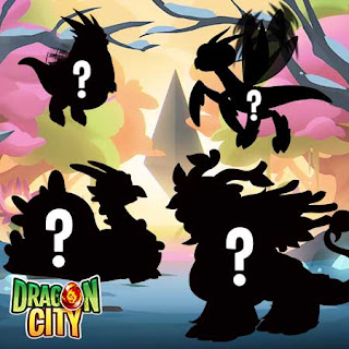 imagen de los dragones estaciones del evento especial de dragon city