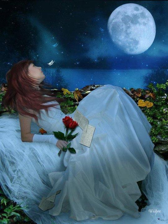La femme et la Lune ...  - Page 2 Femme+lune