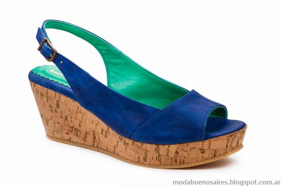 Moda verano 2014 sandalias y zapatos.